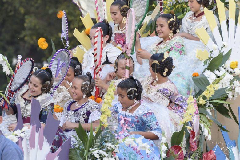 Batalla de flores - rascanya por Miguel Santamaría Vicent.