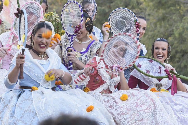 Batalla de flores - Alicia Sáez Cutanda por Miguel Santamaría Vicent.
