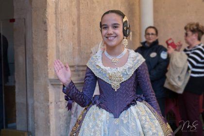 Sara Larrazábal Bernal en San Miguel de los Reyes por Miguel Santamaría Vicent.
