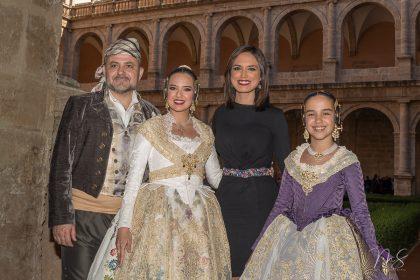 Diego, Marina, Alicia y Sara por Miguel Santamaría Vicent.