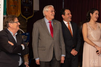 Cena de Navidad de la Federación de Fallas 1A por Miguel Santamaría Vicent.