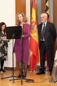 Acto de entrega oficial de puntillas y posticeria de valenciana. por Miguel Santamaría Vicent.