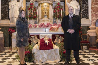 Primera ofrenda a la Virgen - Federación Fallas 1A por Miguel Santamaría Vicent.