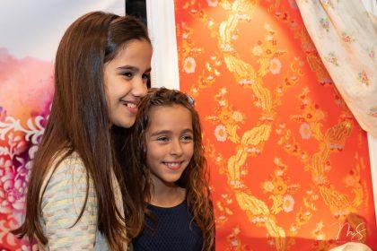 Presentación de las telas de la corte infantil Fallas 2019 en el Ateneo Mercantil de Valencia por Miguel Santamaría Vicent.